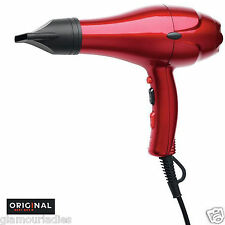 Professional Hair Dryer Dreox Original Best Buy 2000 Watts Red Semi Compact