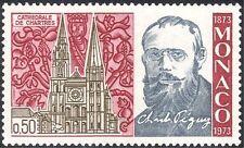 MONACO 1973 Charles Péguy/Scrittore/Libri/Letteratura/Cattedrale/edifici 1v n43896
