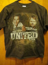 Michael Smith Steven Chapman The United Tour Concert T Shirt Brown Youth Large
