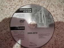 JAGUAR 2009-2010 SAT NAV DISC SATELLITE NAVIGATION DVD ROM FREE POSTAGE EUROPE