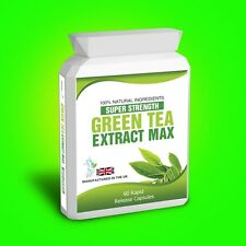 GREEN TEA PURE EXTRACT WEIGHT LOSS DIET SLIMMING AID DETOX BURN FAT CAPSULES
