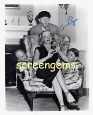 Connie Cezon signed photo The Three 3 Stooges costar RARE autograph excellent