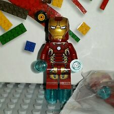 NEW LEGO Super Heroes Avengers Minifigure Iron Man Mark MK43 Real Authentic