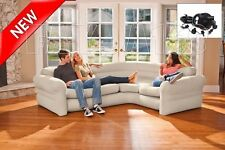 Sectional Sofa Couch Corner Inflatable Air Modern Living Room Furniture w/ Pump