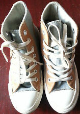 converse chuck taylor all star wool rich with suede hi top shoe UK SIZE 3 unisex