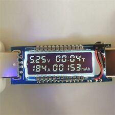 USB Ammeter USB Voltage Meter Current Voltage Detect Battery Capacity Tester