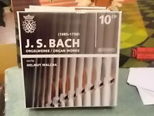 "J.S. BACH "" ORGELWERKE - ORGAN WORKS "" 10 CD"