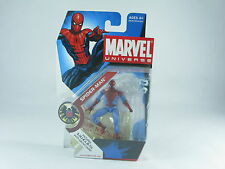 "Marvel Universe Spider-man, 002 Light Blue 4"" Figure MOSC New Unopened"