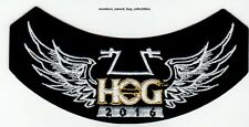 2016 HOG Members Rocker Patch HARLEY DAVIDSON OWNERS GROUP HD MC club life