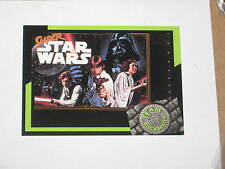 1992 TEAM BLOCKBUSTER VIDEO GAMING CARD SUPER STAR WARS PROMO # 35! LUKE HAN!!!