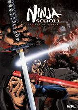 Ninja Scroll Movie Motion Picture Anime DVD NEW!