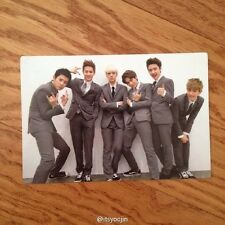 EXO-K GROUP Official Photo Card 1st Repackage Ver.A Growl Korea Ver Photocard