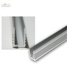 1m1m profilo in alluminio parete vetro piano fo strisce LED
