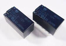 2 Stück bipolares Relais 12V 2xUM 220V 2A Panasonic Japan TX2-L2-12V Gold#12R42#