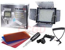YONGNUO YN-160 II LED Luz de vídeo para Nikon D7100 D800 D700 D3100 D7000 D5100