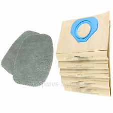 2 Filters + 5 Bags for NILFISK GA70 GS80 GS90 GM80 GM90 GD80 GD90 Vacuum Filter