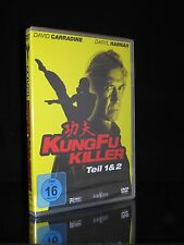 DVD KUNG FU KILLER - TEIL 1 & 2 - DAVID CARRADINE + DARYL HANNAH - MARTIAL-ARTS