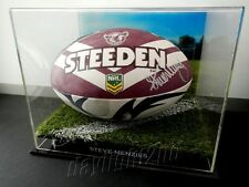 ✺Signed✺ STEVE MENZIES Manly Sea Eagles Football COA Jersey 2016
