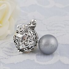 Harmony Ball Mexican Bola Pendant Angel Sounds Pregnant Women Silver Necklace