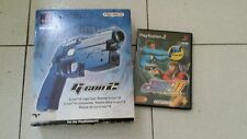Pack playstation 2 ps2 / time crisis 2 II + Pistolet gun g con 2