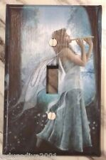New Woodland Fairy Playing Flute-Light Switch Cover-FREE Shipping-Medium Size