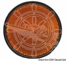 Osculati Boat Trailer Adhesive Orange Reflector 60 mm diameter