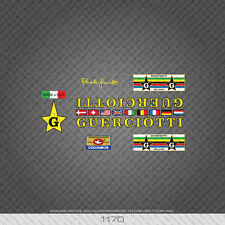 01170 Guerciotti Bicycle Stickers - Decals - Transfers
