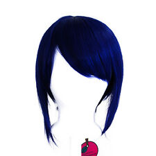 12'' Bob Cut Midnight Synthetic Cosplay Wig NEW