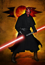 Darth Maul from Star Wars Original Art Print