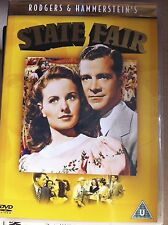 Jeanne Crain STATE FAIR ~ Rodgers & Hammerstein 1945 Musical Classic ~ UK DVD