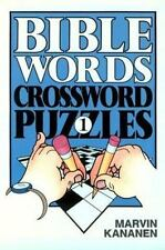 Bible Words Crossword Puzzles 1