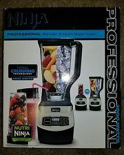 Ninja Professional Blender & Nutri Ninja Cups BL660WM NEW in BOX FREE Ship 100%