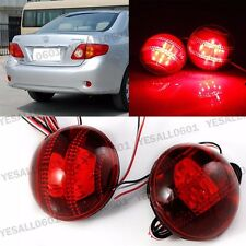 LED Rear Bumper Lights Reflector for Toyota Corolla Highlander Fortuner Sequoia