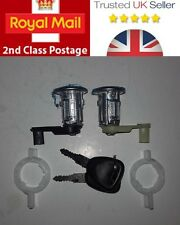 RENAULT MASTER VAUXHALL MOVANO  NEW DOOR LOCK BARREL SET & 2 KEYS