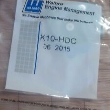 K10-HDC CARBURETOR REPAIR REBUILD OVERHAUL KIT OEM GENUINE WALBRO