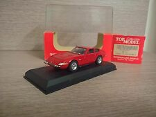 FERRARI 365 GTB4 DAYTONA 1968 SCALA 1:43 TOP MODEL ROSSO/RED MADE IN ITALY