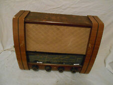 VINTAGE Wooden Cased RADIO VALVE Tube GEC G.E.C MAINS Model BC5842 BC 5842