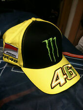 CAP HAT CAPPELLINO MONSTER DUCATI V. ROSSI SIZE U ADJUSTABLE FREE SHIPPING