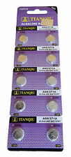 50 x TIANQIU AG6 371A 371 370 SR69 LR920 SR920 SR920SW Alkaline Watch Battery US