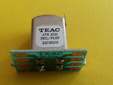 1 REC/PLAY HEAD REEL TO REEL TEAC TASCAM 5378601100 unused RAR  TEAC RECORD PLAY
