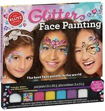 Glitter Face Painting by Klutz Editors (2016, Hardcover)