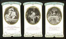 lotto santini-holy cards lot-lot images pieuses-konvolut heiligenbildichen n.395