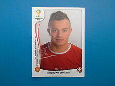 Panini World Cup Brasil 2014 n.351 Xherdan Shaqiri Switzerland