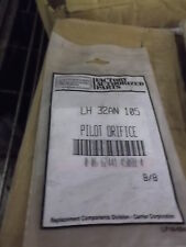 NEW Factory Authorized Parts Carrier Pilot Orifice LH 32AN 105 *FREE SHIPPING*