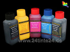 5 100ml tinta Ink para Canon pro PIXMA mx7600 ix7000 pgi-9 pbk, pgi-7 pgi-2 pgi-1