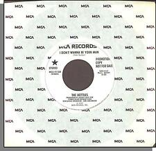 """The Bottles - I Don't Wanna Be Your Man - 1979 MCA Promo 7"""" 45 RPM Single!"""
