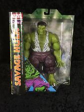 Marvel Select Savage Hulk *special Collector Edition Action Figure