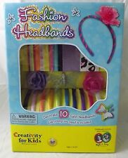 BRAND NEW Fashion Headbands From Creativity for Kids - Great Party Activity