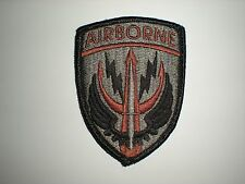 US ARMY - SPECIAL OPERATIONS COMMAND CENTRAL PATCH - ACU