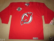 New Jersey Devils Center Ice CCM NHL Hockey Jersey XL NWT New